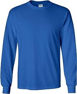 Gildan Mens Ultra Cotton 100% Cotton Long Sleeve T-Shirt