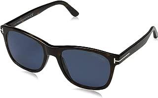 Tom Ford FT0595 52D Dark Havana Eric Oval Sunglasses Polarised Lens Category 3