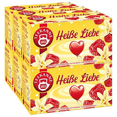 Teekanne Heiße Liebe 6er Pack