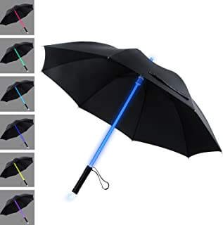 LED Umbrella Lightsaber Light Up Umbrella | 7 Color Changing | Golf Umbrellas | Umbrella Windproof | Umbrella Kids Men