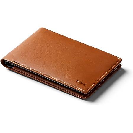 Bellroy Leather Travel Wallet (Funda para Pasaporte, protección RFID, Organizador Documentos de Viaje, bolígrafo de Viaje) - Caramel