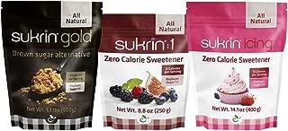 Sukrin Sweetener Variety Pack - Gold, Sukrin:1, Icing