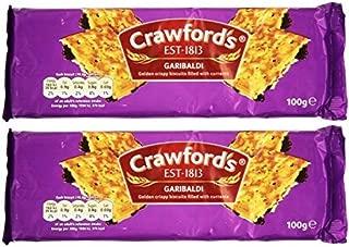 Crawfords Garibaldi Biscuits 100g (Pack of 2)