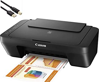 Canon PIXMA MG 2000 Series Photo All-in-One Color Inkjet Printer - 3-in-1 Print, Scan, and Copy for Home Business Office, ...