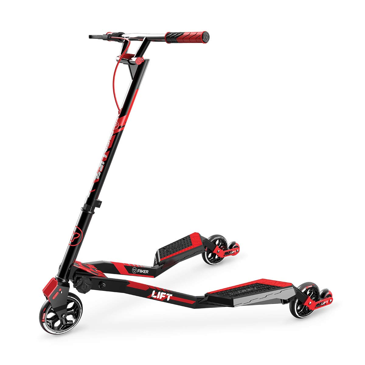 Yvolution Fliker Lift Scooter Size