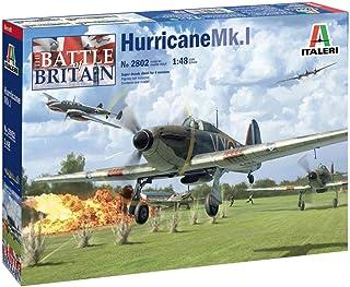 Italeri 2802S 1:48 Hurricane Mk.I, Faithful Replica, Model Making, Crafts, Hobbies, Gluing, Plastic Construction kit, Asse...