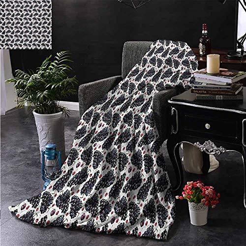 ZSUO bont deken koffie mokken collage met amandelen cashews bonen kaneel moderne samenstelling extra gezellig, machine wasbaar, comfortabel huisdecoratie