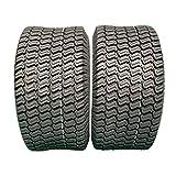 2 PCS 18X6.50-8 4PR P322 Turf Tires LRB 18X6.50-8 Turf Bias Load Range B Tubeless Tires 18-6.5-8 18/6.5-8 For Garden Lawn Mower Tractor Golf Cart tires