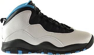 Jordan Air Jordan Retro 10 Chaussures de basketball synthétiques à bout rond pour homme Noir