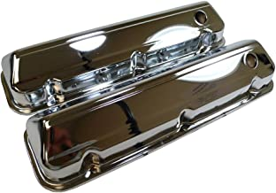 1968-97 Compatible/Replacement for Ford Big Block 429-460 Steel Valve Covers - Chrome