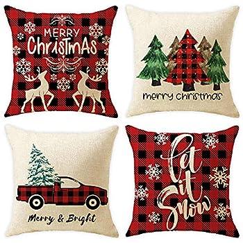 throw pillow covers christmas