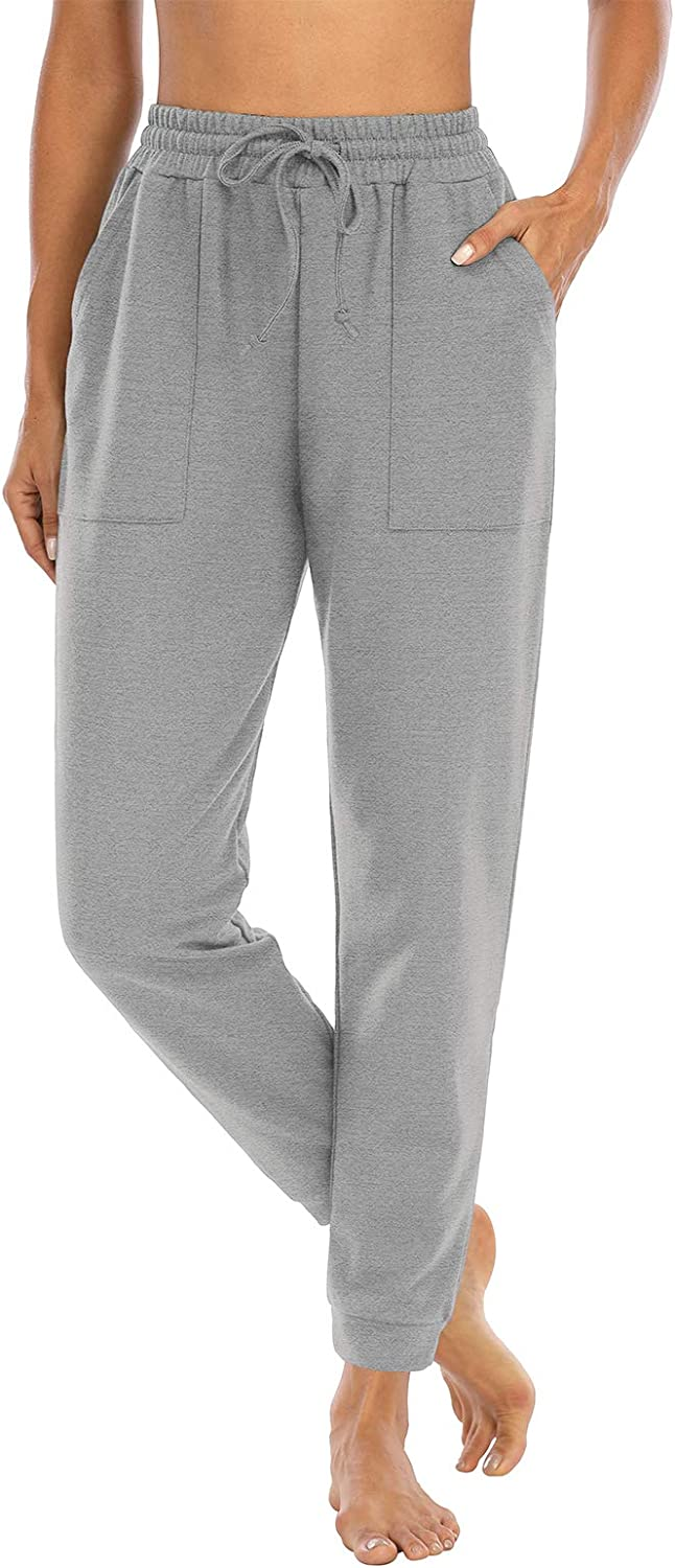 NOAHELLA Yoga Sweatpants Year-end annual account for Women Pockets Drawstring with Time sale Jogge