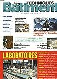 LES CAHIERS TECHNIQUES DU BATIMENT N°182, SEPTEMBRE 1997. LABORATOIRES / BRIQUE DE TERRE CUITE, TRAITEMENTS / CHAUSSEE RESERVOIR EAUX DE PLUIE / PLAFOND ACCOUSTIQUE 10.000m2 / ENVIRONNEMENT : NOUVEAU DEFI / ...
