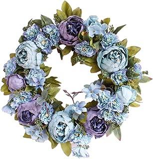 Best blue hydrangea door wreath Reviews