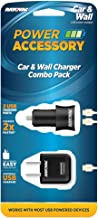 Rayovac Car and Wall Charger Combo Pack - Includes 1 Wall Charger (PS69A) and 1 Car Charger (PS70A)