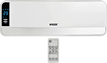 MYLEK 2kW Electric Over Door Heater/Fan Air Curtain with Thermostat, LED Display, Timer & Remote Control - ErP Compliant