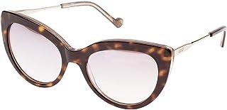 ليو جو نظارات شمسية عين القطة للنساء، رمادي