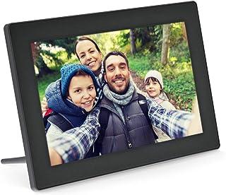 """InLine, 55821S Digitale WiFi-fotolijst, 10,1 inch, 1280 x 800 16:9 LCD IPS touchscreen, Frameo APP, zwart"","