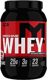 MTS Machine Whey Protein (2lbs, Creamy Red Velvet Cake)