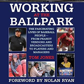 Working at the Ballpark audiobook cover art