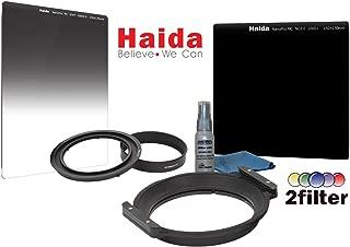 Haida NanoPro 150mm Creative Filter kit for Samyang 14mm Ultra Wide-Angle f/2.8 IF ED UMC & 2.8 FE AF lens Includes Haida 150mm Holder, 150mm MC NanoPro 3.0 ND 10-stop & NanoPro 0.9 SE Grad ND filters