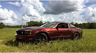 KPMF K75400 Gloss Red/Black Iridescent | K75408 | Vinyl CAR WRAP Film (Sample 2in x 6in)