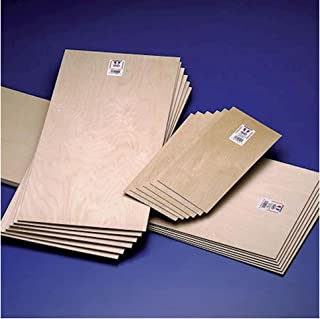 Midwest Thin Birch Plywood 3/16 in. x 6 in. x 12 in. general craft/modeling