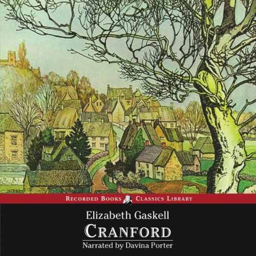 Cranford                   By:                                                                                                                                 Elizabeth Cleghorn Gaskell                               Narrated by:                                                                                                                                 Davina Porter                      Length: 7 hrs and 38 mins     110 ratings     Overall 4.1