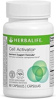 Nutrient Support Formula Cell Activator 60 Capsules W/Aloe Vera & Antioxidant Activity