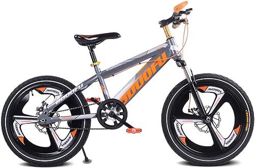 Venta en línea precio bajo descuento LISI Bicicleta para Niños 16 18 20 20 20 Pulgadas Opcional Coche de Montaña Estudiante Freno de Disco Amortiguador de una Sola Velocidad para Niños en Bicicleta 4 Colors,naranja,18  ¡No dudes! ¡Compra ahora!