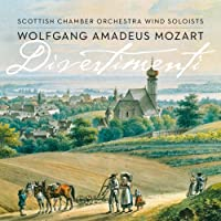 Mozart: Divertimenti (Hybrid SACD)(Plays on all CD players) by Scottish Chamber Orchestra Wind Soloists