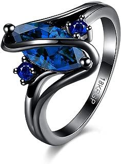 Diamondo Women Zircon Rings Fashion Rhinestone Finger Jewelry Dinner Wedding Accessory