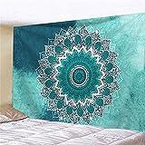 YDyun Tapiz, decoración de Dormitorio, Alfombrilla para Yoga, Toalla para Playa, Colgante de Pared con patrón de combinación