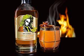 """GINSANITY Glüh-Gin """"Hot Fusion""""   mit Apfelsaft der heißeste GLÜHGIN des Winters   Granatapfel, Orange, Zimt, Vanille, Sternanis und vieles mehr   Handcrafted in Köln   0,35 L"""