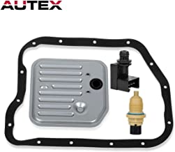 AUTEX 1pc Governor Pressure Sensor Solenoid + 1pc Single Gasket Filter Kit + 1pc Toss 24mm Output Speed sensor Compatible with Dodge Dakota & Dodge Ram 1500 & Durango & Jeep Grand Cherokee 1996-1999
