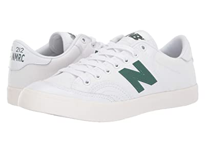 New Balance Numeric NM212 (White/Green) Men