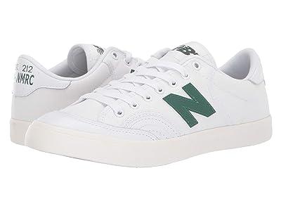 New Balance Numeric NM212 (White/Green) Men