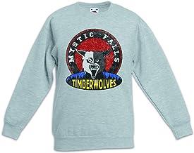 Urban Backwoods Mystic Falls Timberwolves Sudadera Suéter para Niños Niñas Pullover