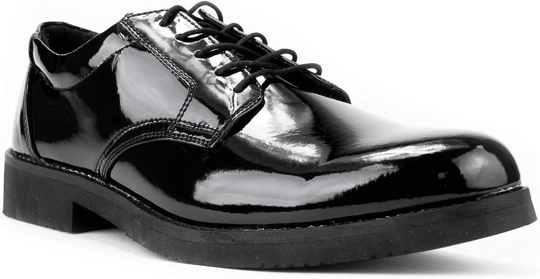 First Class Hi-Gloss Oxford Dress Shoes