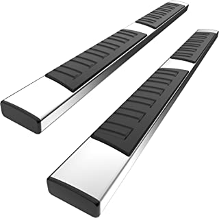YITAMOTOR 6 Inches Running Boards Compatible with 1999-2016 Ford F-250 F-350 Crew Cab, Side Steps Nerf Bars (Stainless Ste...
