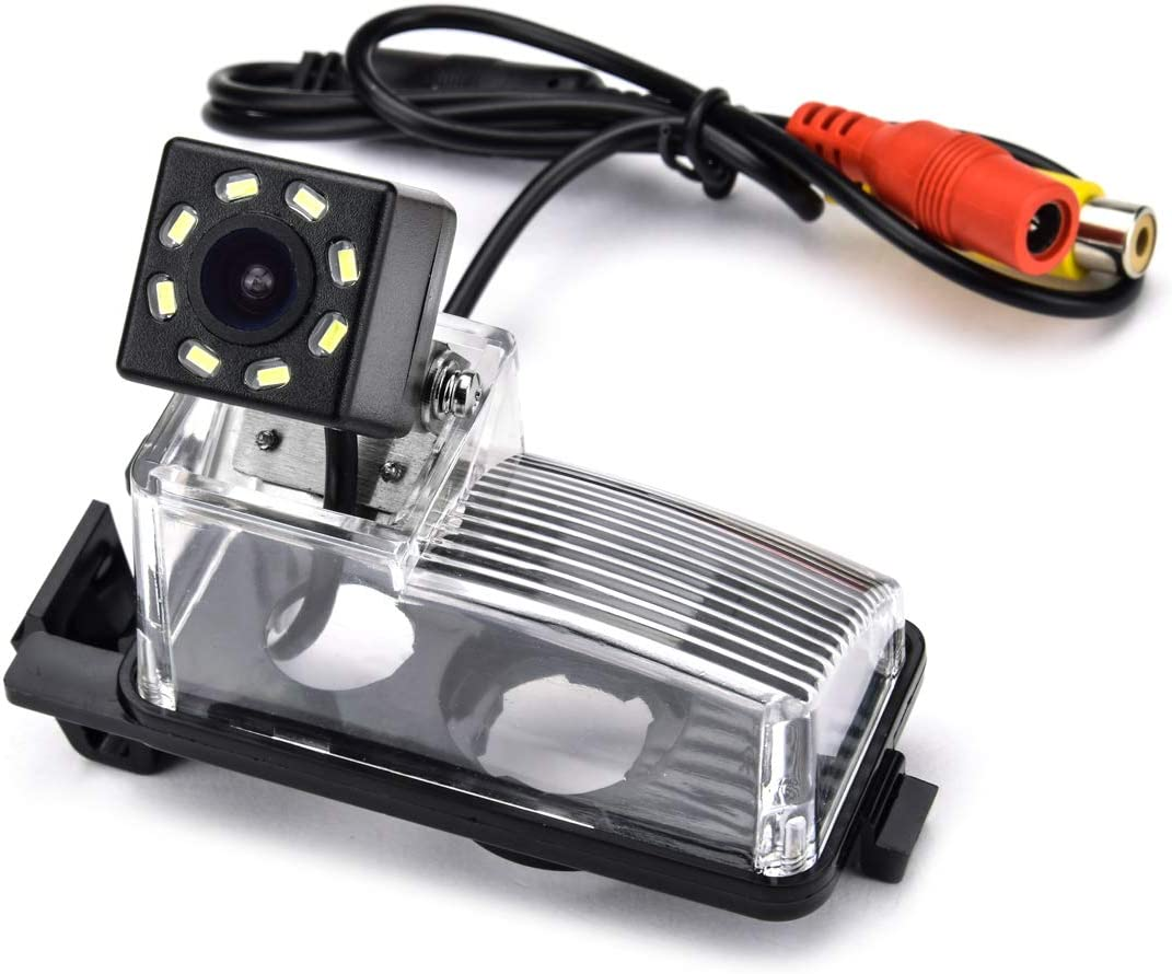 aSATAH 8 Translated LED Adjustable Angle Car Nissan View Camera ...