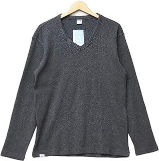 EDWIN エドウィン ワッフル素材 長袖 Tシャツ Vネック ET5626