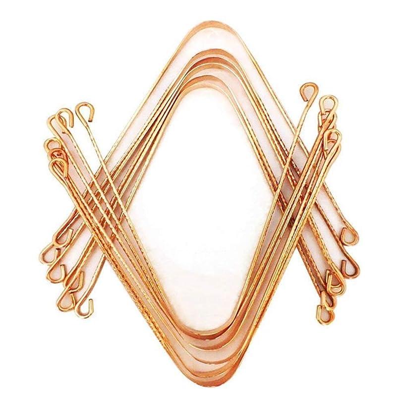 発音する遠洋の枯渇OMG-DEAL-Ayurvedic Copper Metal Tongue Cleaner 12 Pcs