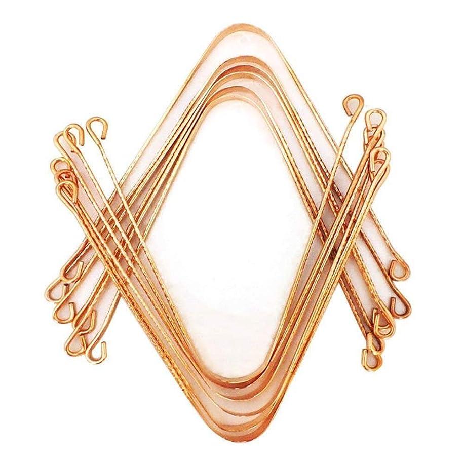 見落とすアルバム恐怖症OMG-DEAL-Ayurvedic Copper Metal Tongue Cleaner 12 Pcs