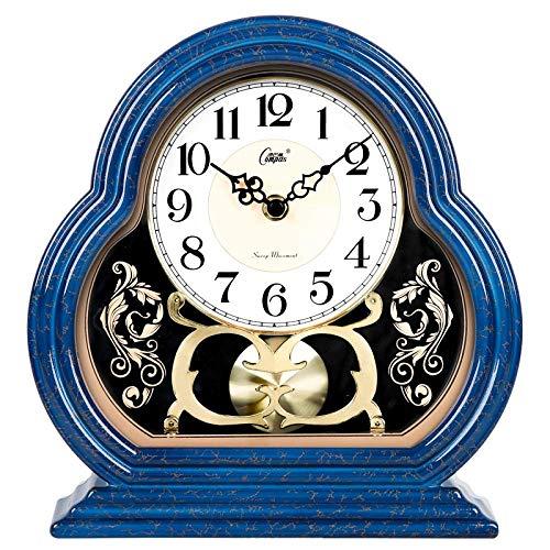leiser Wand Clockclock Uhr Wohnzimmer Quarz-Uhr Pendeluhr BedroomCloisonne,Cloisonné