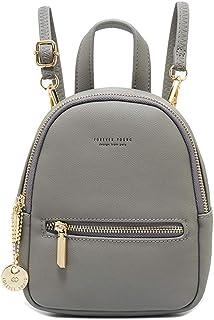 Aeeque Women Mini Backpack Purse, Leather Crossbody Phone Bag Small Shoulder Bag