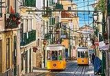 Puzzles Adultos 1000 Piezas Rompecabezas Tranvía De Lisboa Art Painting Puzzle Decoración Rompecabezas Educativos Juegos De Bricolaje Brain Challenge Puzzle Sets