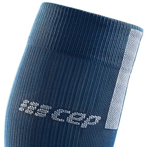 CEP – Run Socks 3.0 für Damen | Kompressionsstrumpf mit präzisem Druckverlauf in blau/grau | Größe II - 4
