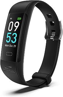 Fitness Tracker,Slimme Armband,Gezondheidssporthorloge met Hartslag- en Slaapmonitor, Slimme Armband met Stappenteller, Ca...