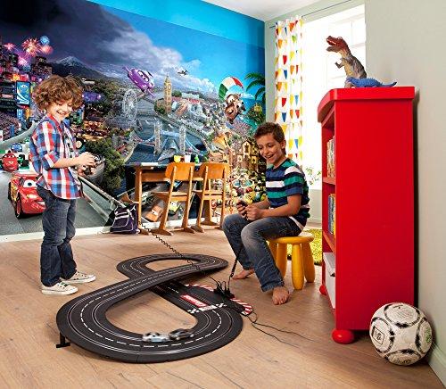 Photo wallpaper CARS WORLD, 368cm w x 254cm h, 8 panels, Disney - Pixar